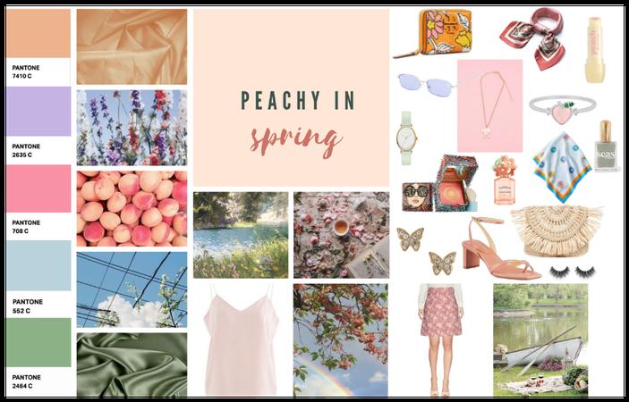Peachy In Spring