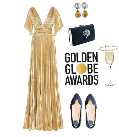 Flats for golden globe awards
