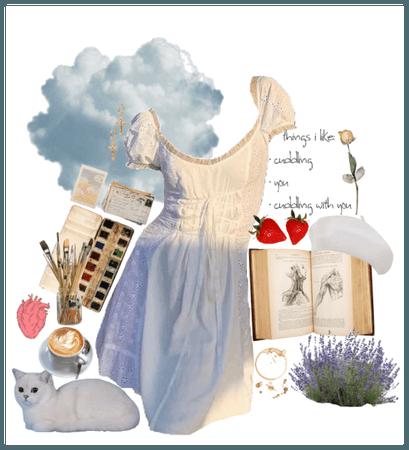 Cloud girl