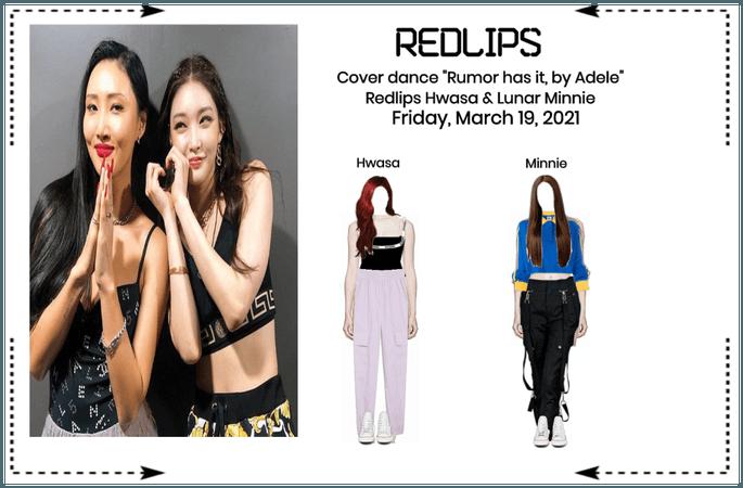 """Redlips Cover """"Rumor as it all"""" Ft. Lunar"""