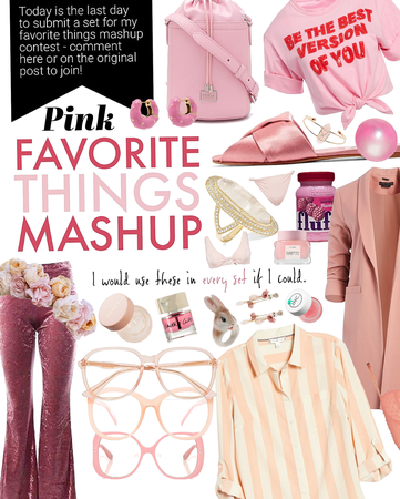 FAVORITE THINGS CONTEST @abbymae | Pink