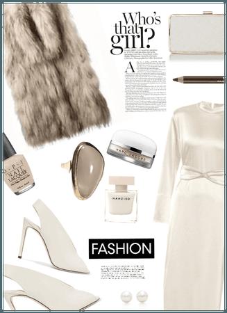 Who's that girl? Faux Fur Fashion