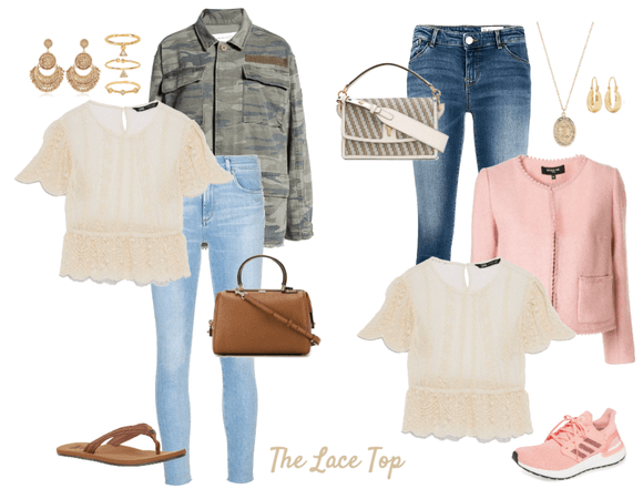 Focus: Lace Top- 6+ Iterations