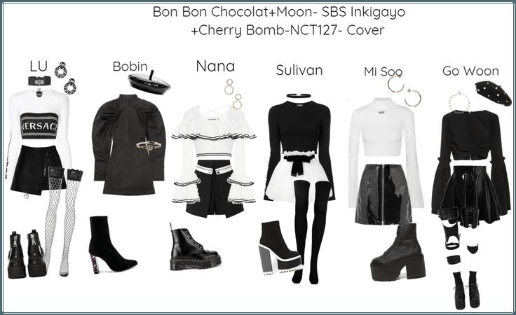 Bon Bon Chocolat+Moon- SBS Inkigayo