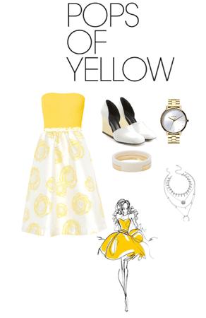 Little bit of yellow
