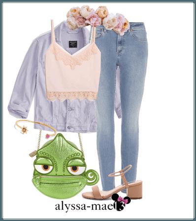 Rapunzel // DisneyBound