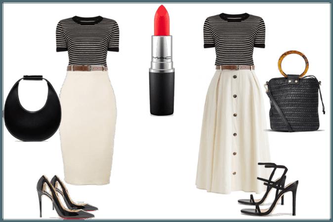 1 shirt 2 skirt