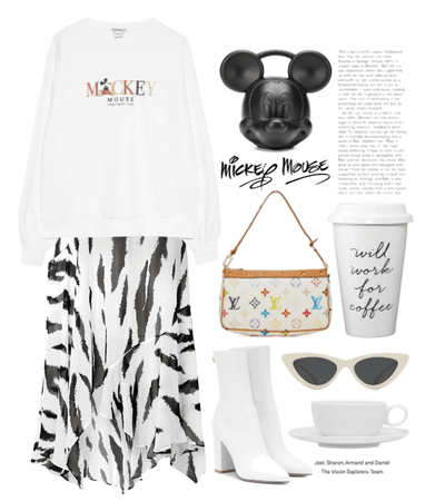 Mickey Mouse Casual Outfit