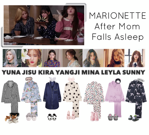 {MARIONETTE} After Mom Falls Asleep