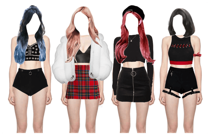 Girl Group Outfit Ideas
