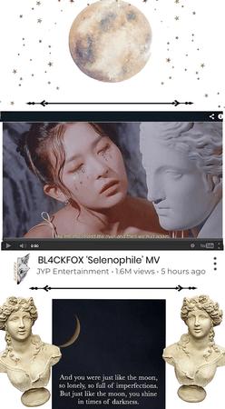 BL4CKFOX's Comeback song 'Selenophile' MV