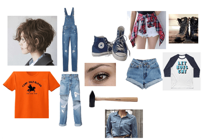 My oc's wardrobe:Ellie