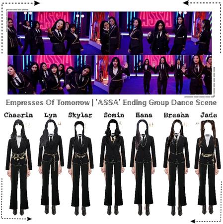 EOT(내일의 황후) | 'ASSA' Ending Dance Scene