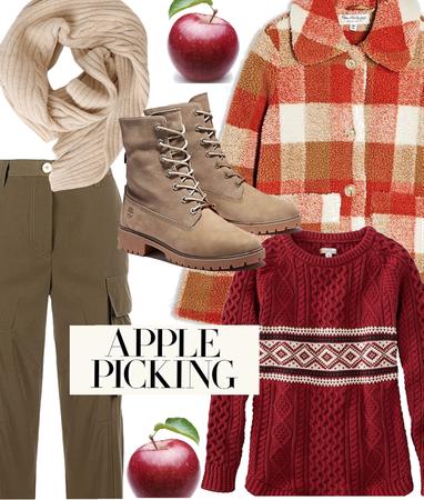 Apple picking 🍎