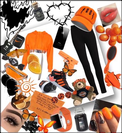 Black and orange 🧡🖤🧡🖤🧡🖤🧡