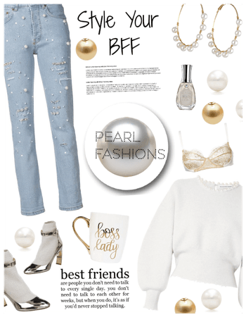 Style ur bff in Pearls