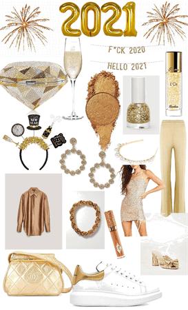 2021 gold glam