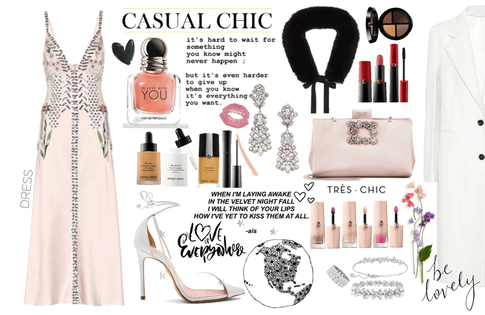 Happy Valentine's day: a casual romantic look