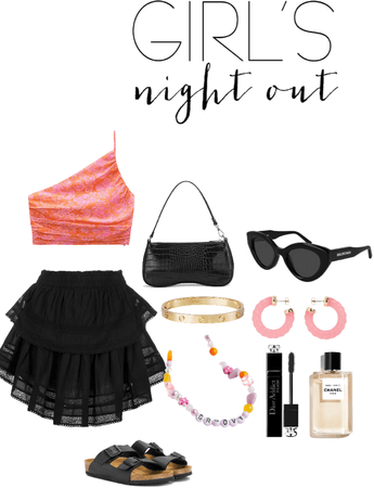 Preppy Girls Night out fit