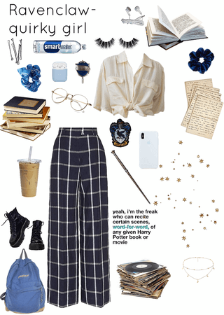 Ravenclaws are quirky girls