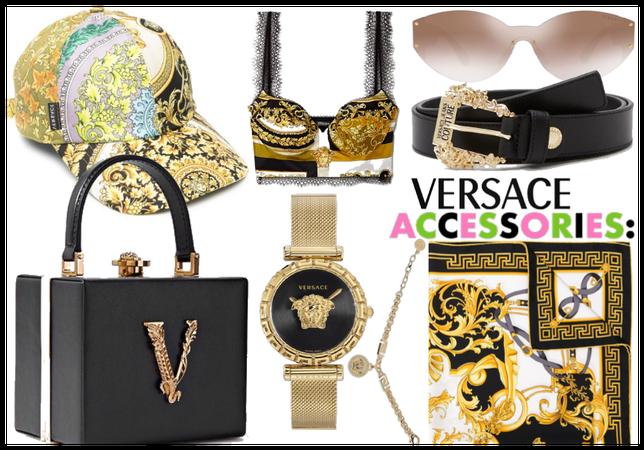 Versace accessories