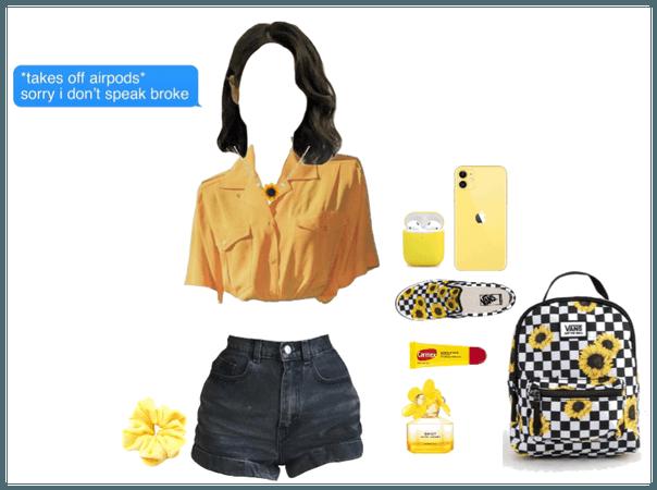 rich sunflower girl