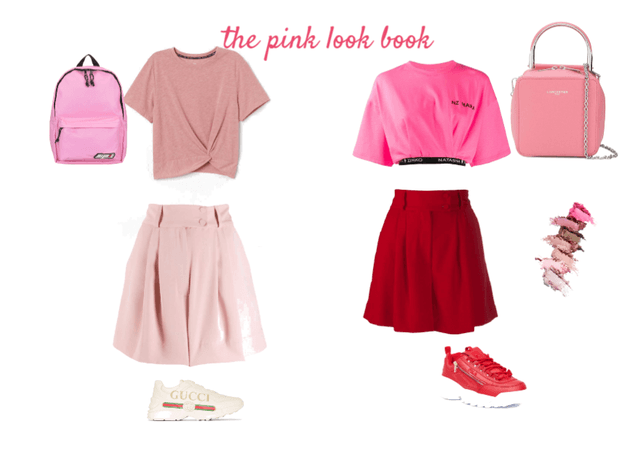 the pink look book