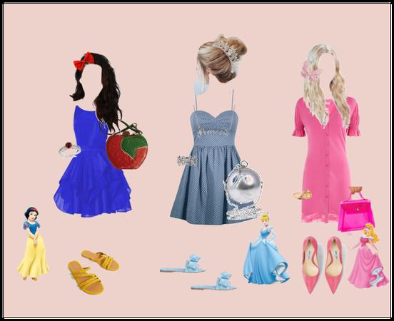 Golden Era-Disney Princesses in Modern Times