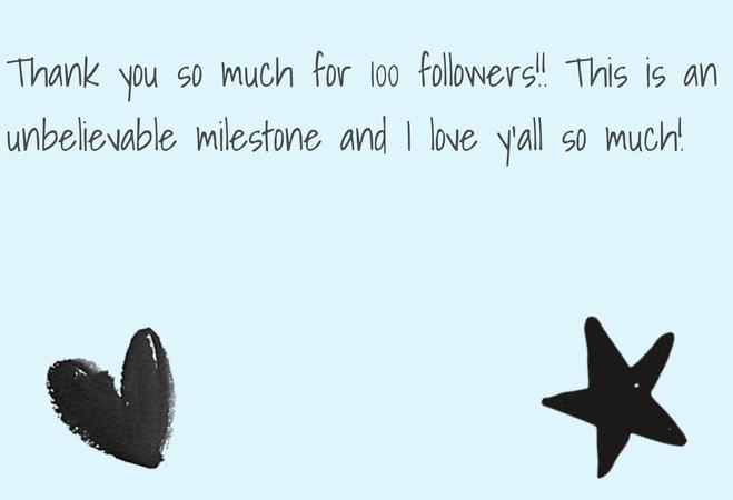 100 followers!!!!!