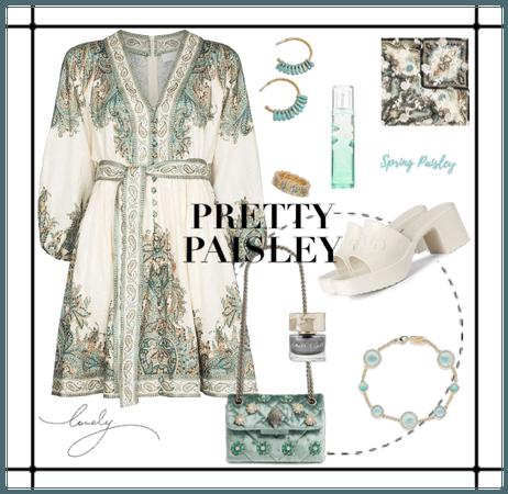 spring paisley