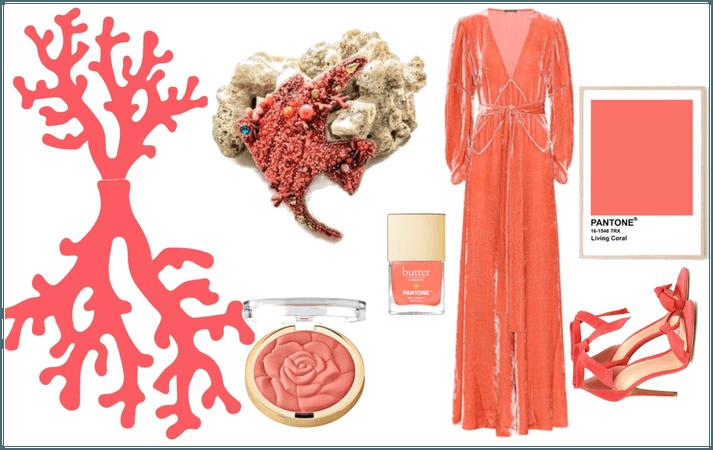 Living Coral - pantone color 2019