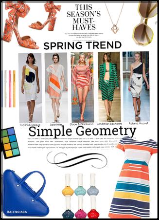 Spring Trend/Simple Geometry