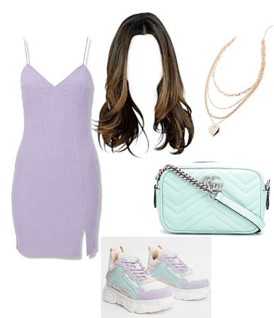 lilac green💜💚