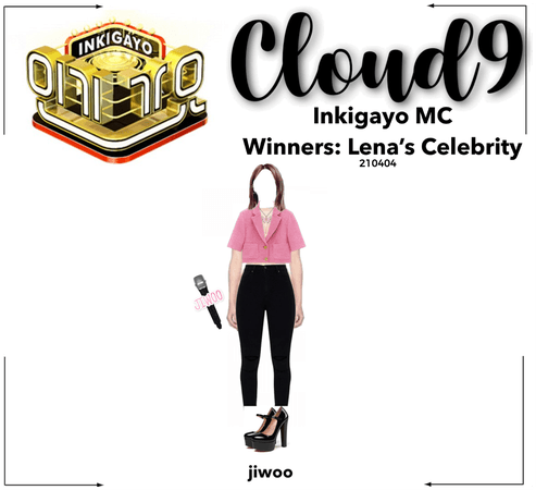 Cloud9 (구름아홉)   [JIWOO] Inkigayo MC   210404
