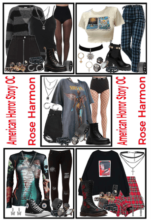 Rose Harmon's Outfits For A Week   AHS OC