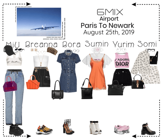 《6mix》Airport | Paris To Newark
