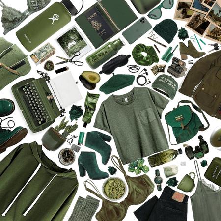 Always in green
