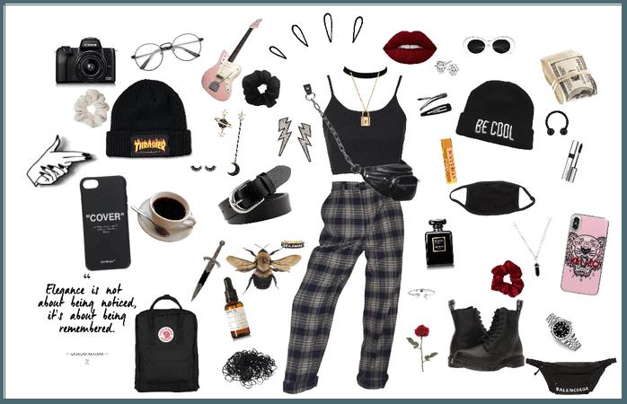 Goth/E girl