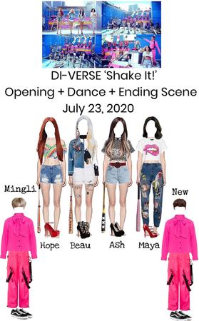 DI-VERSE 'Shake It!' MV Opening scene