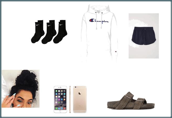 comfy basic look