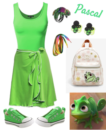 Pascal outfit - Disneybounding - Disney