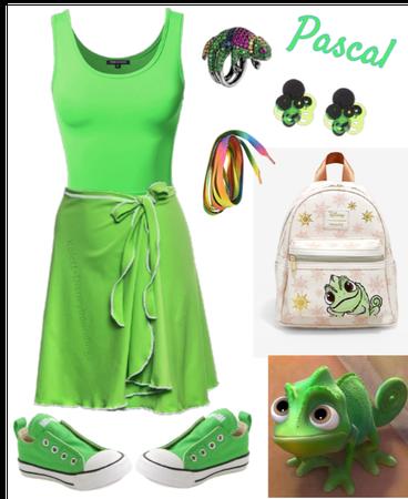 Pascal outfit - Disneybounding - Disney