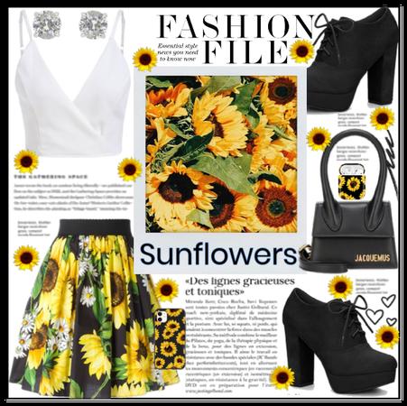 Spring Florals Challenge Ft Sunflower