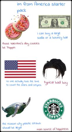 I'm from America starter pack