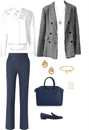Outfit accesorios dorados