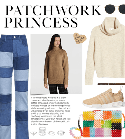 patchwork purse style