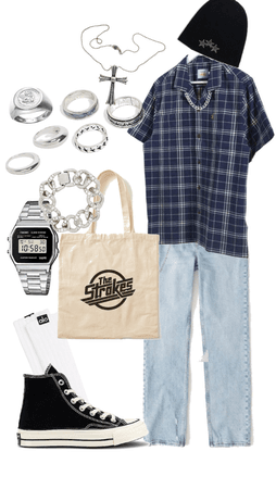 casual skater outfit
