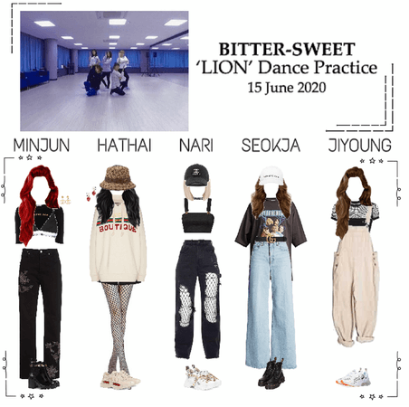 BITTER-SWEET [비터스윗] Dance Practice 200615