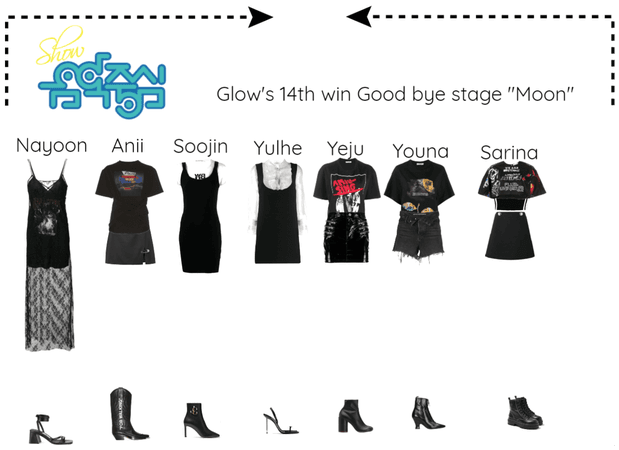 """Glow's 14th win Goodbye stage """"Moon"""""""