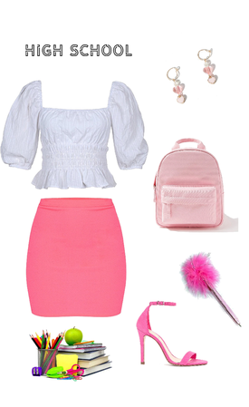 back to school, back to pink
